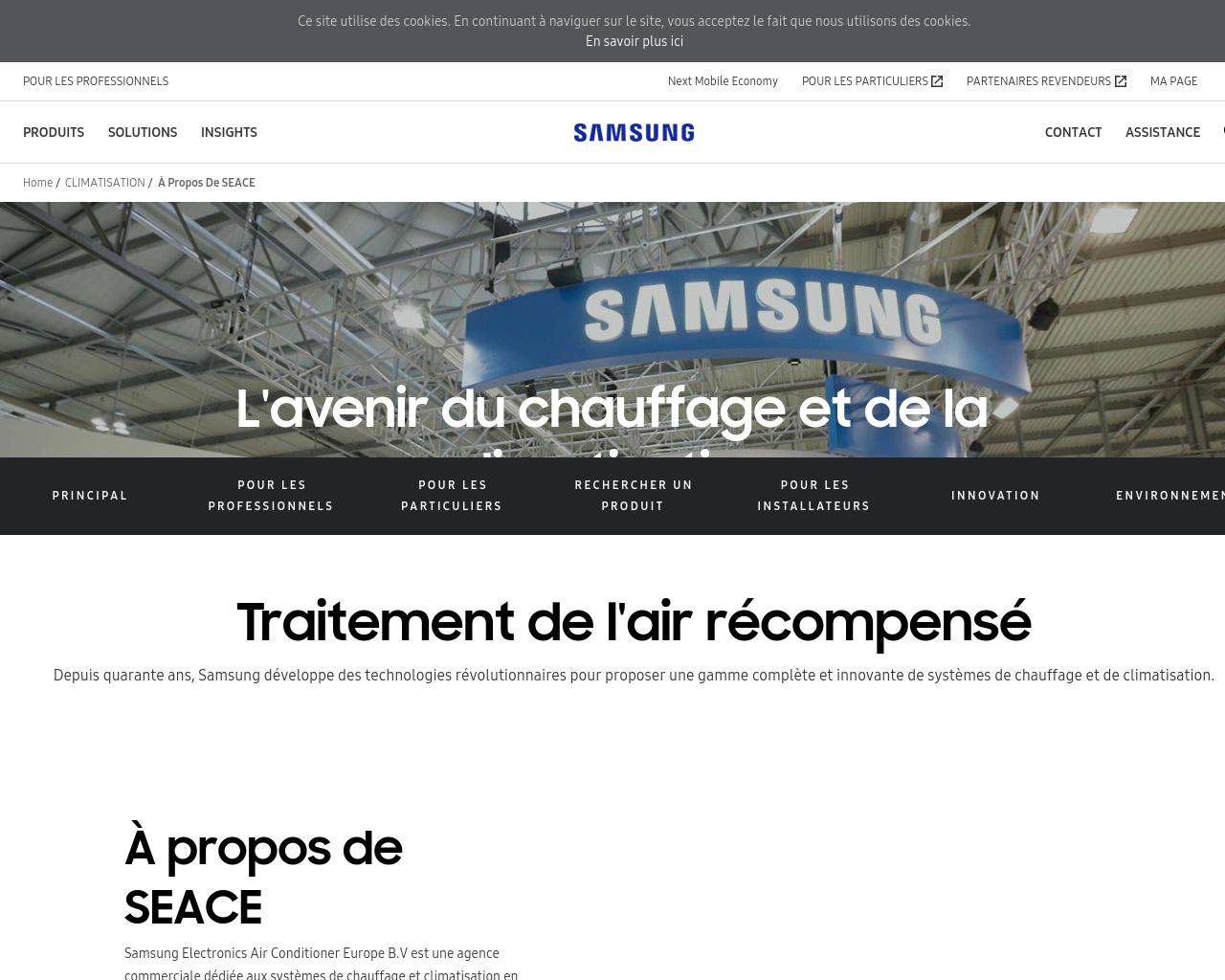 SAMSUNG ELECTRONICS AIRCONDITIONER EUROPE BV