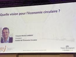 François-Michel Lambert, Président de l'Institut National de L'Economie Circulaire