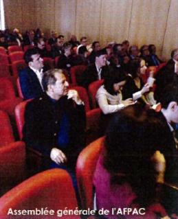 L'AFPAC dans la presse : Assemblée Générale de l'AFPAC : l'AFPAC veut accélérer son développement pour accompagner celui de son marché