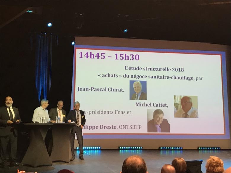 Jean-Pascal Chirat intervient à la Convention FNAS 2019