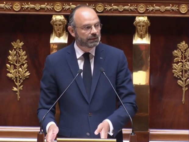 Edouard Philippe, le 28 avril 2020 Edouard Philippe, le 28 avril 2020 © Capture Gouvernement.fr