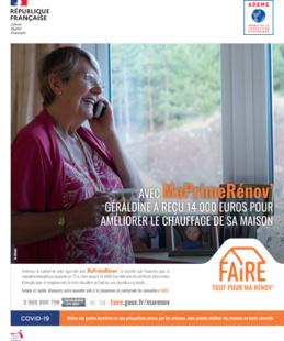 Campagne de communication FAIRE Tout pour ma rénov'