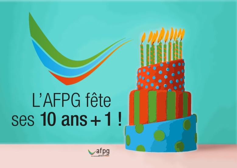 L'AFPG fête ses 10 ans + 1