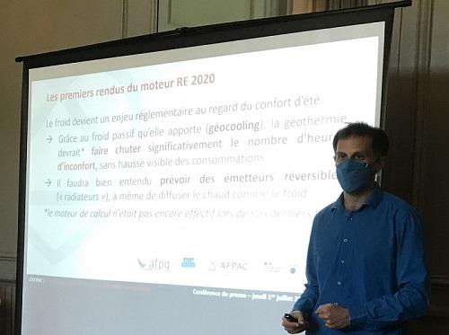 Communiqué de Presse  : En collaboration avec l'AFPG, le BRGM, la FNCCR, l'ADEME, l'AFPAC a présenté « La relance de la Géothermie »