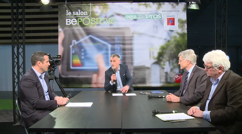 Salon BePOSitive 2017 : intervention de L'AFPAC sur plateau-tv  Maintenance des PAC