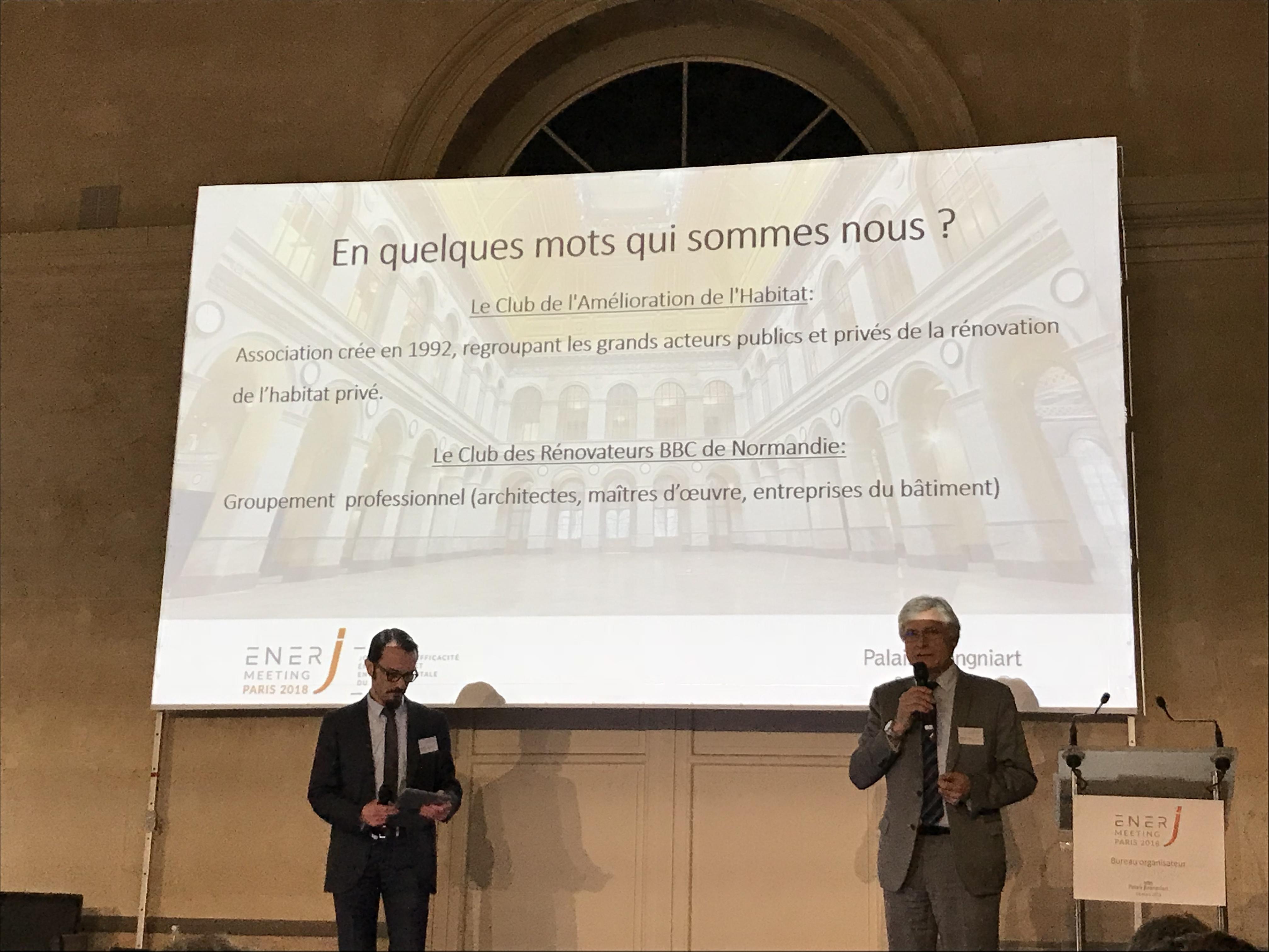 Ener-J Meeting - Jeudi 8 mars 2018 - Palais Brongniart