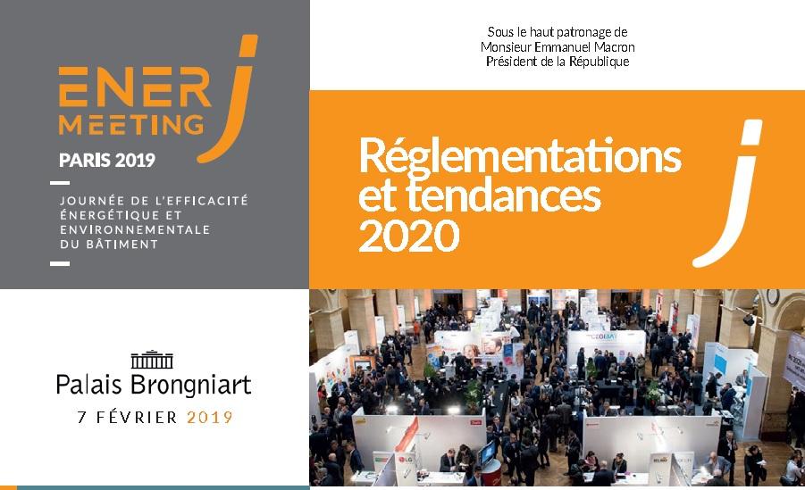 Salon EnerJmeeting - 7 février 2019 - Palais Brongiart Paris