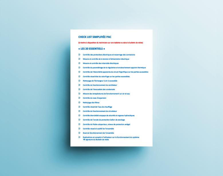 Dans la boite à outils « Maintenance PAC » de l'AFPAC, téléchargez les exemples de contrat d'entretien des pompes à chaleur