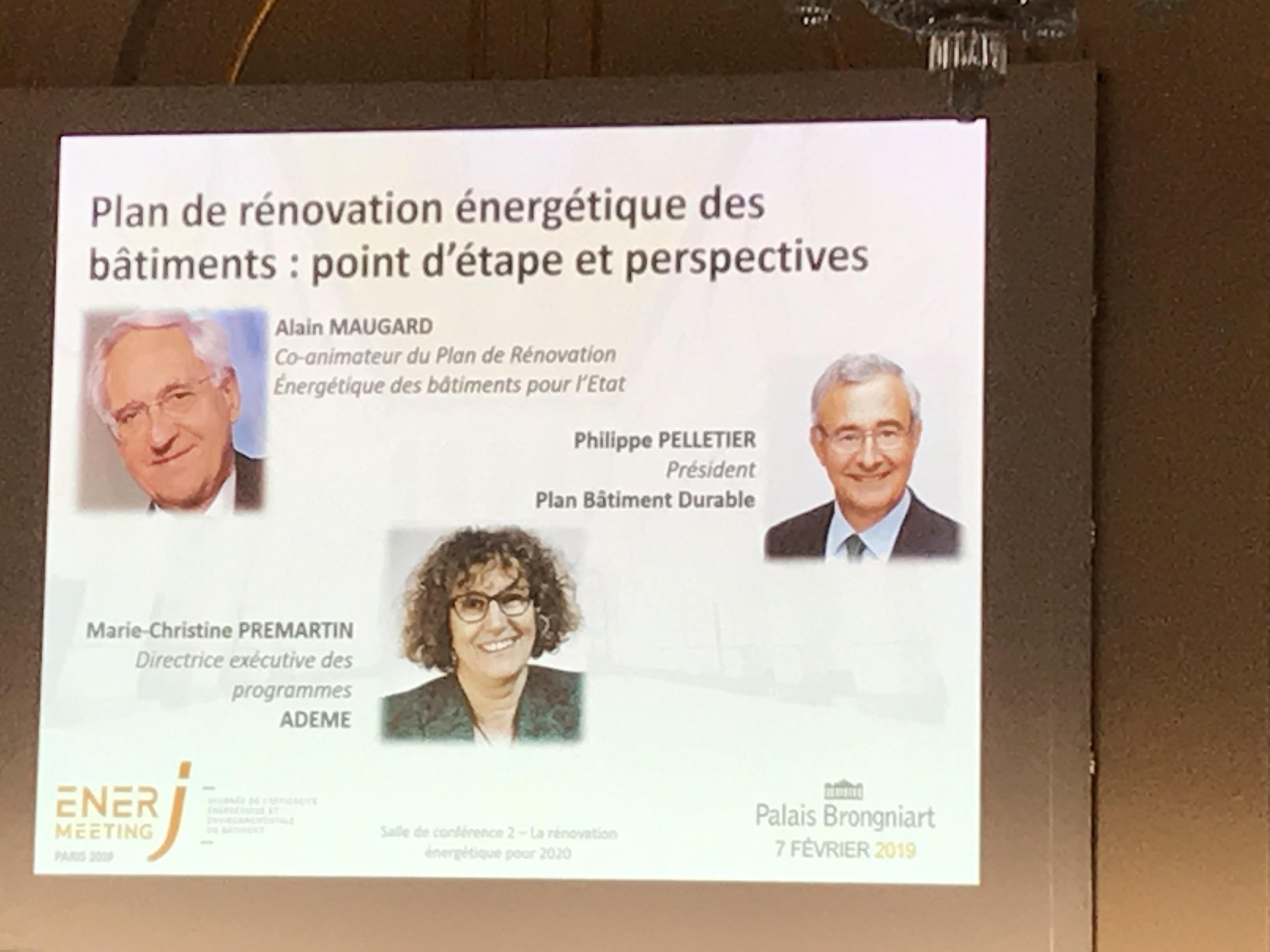 Un point sur le Plan de Rénovation énergétique du bâtiment