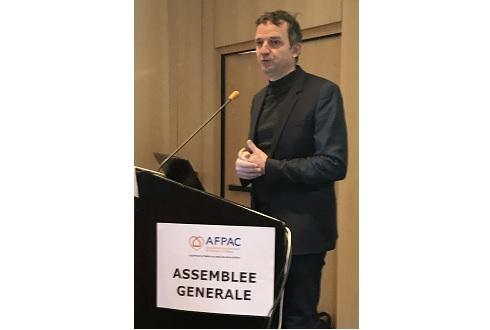 M. le Député François-Michel LAMBERT à l'Assemblée Générale de l'AFPAC