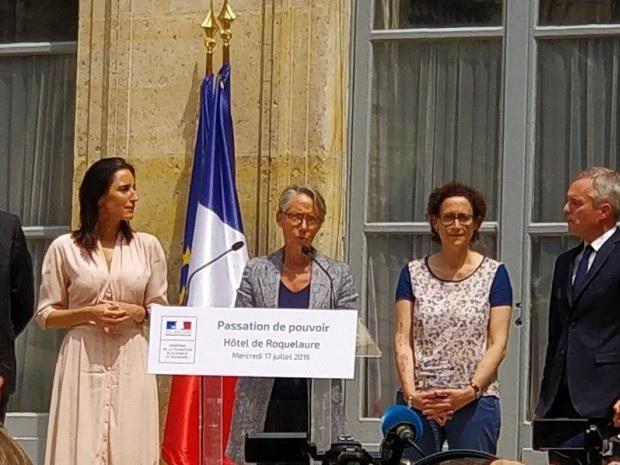 Elisabeth Borne prend le relais de Rugy pour défendre la loi Energie