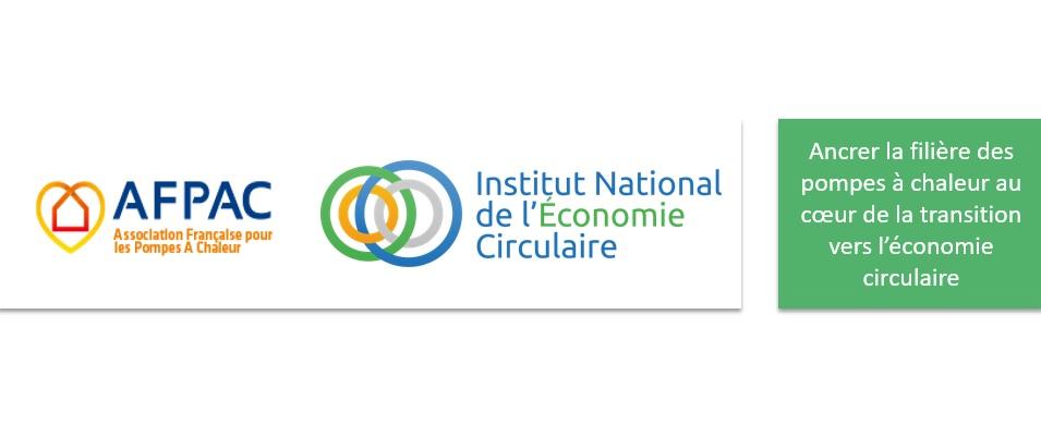 Conférence : « La filière des pompes à chaleur au prisme de l'Economie Circulaire » jeudi 23 janvier 2020