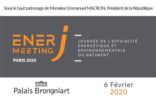 L'AFPAC partenaire d'EnerJ-meeting Paris le 6 février 2020