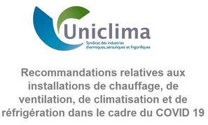 Communication d'UNICLIMA
