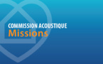 Commission Acoustique : missions