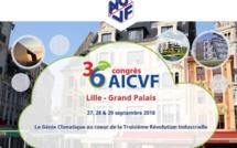 L'AFPAC est partenaire du 36ème Congrès de l'AICVF à Lille - Grand Palais